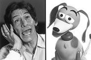 The face that launched a thousand criticisms, and Varney's lauded alter ego, Slinky Dog.