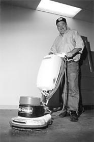 The humble handyman, hard at work. - THOM  SHERIDAN