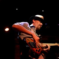 Bad Boys of Blues Jam Night The irrepressible Michael Barrick JOE KLEON
