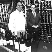 The Lockkeepers brain trust: Executive Chef Morgen - Jacobson (left) and Master Sommelier Larry O'Brien. - WALTER  NOVAK
