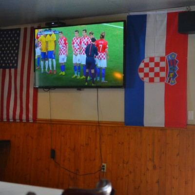 Watching the World Cup With Croatia Fans