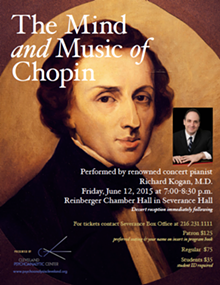The Mind and Music of Chopin with Dr. Richard Kogan