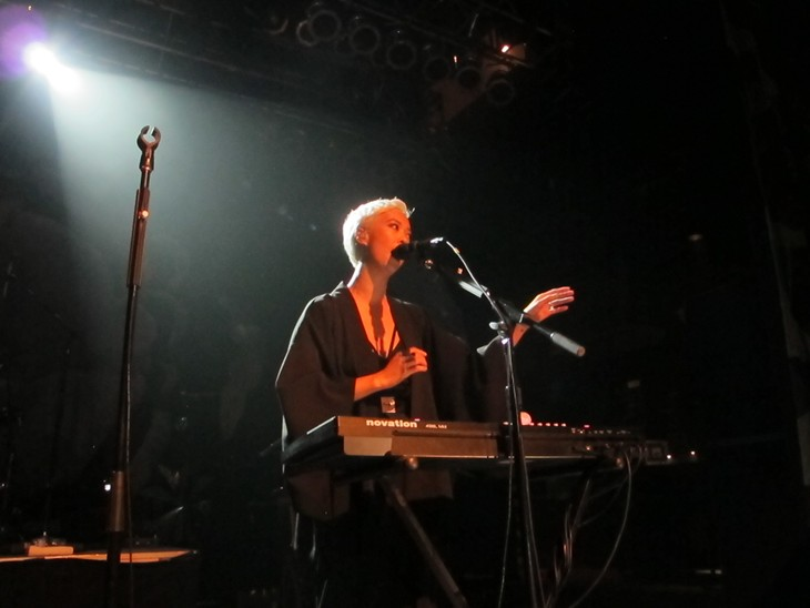 The Naked and Famous performing at House of Blues