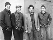 The new face of Wilco (from left): Glenn Kotche, Leroy - Bach, Jeff Tweedy, and John Stirratt.