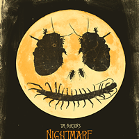30 Incredible Movie Poster Recreations From Your Favorite Hollywood Hits The Nightmare Before Christmas by Joel Amat Guell Photo Courtesy of Matthew Chojnacki