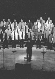 The North Coast Mens Chorus is a bunch of Sugar - Plum Fairies.