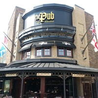 10 of Cleveland's Best Themed Restaurants The Pub in Beachwood is so well themed it could be placed on any corner in London. Grab some fish and chips from this British beauty.