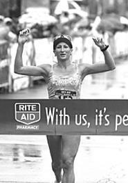 The Rite Aid Cleveland Marathon & 10K hauls ass - around town on Sunday.