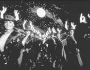 The Rockettes flaunt their lithe legwork and luminous racks.