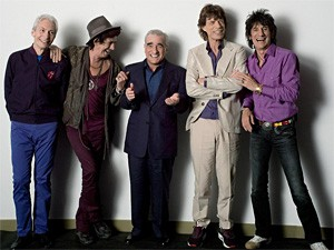 The Rolling Stones have no clue how the short Italian guy got in the picture.
