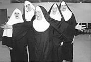 The sisters of Nunsense, A-Men! are real - ball-busters.