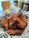 The Sriracha wings at BSpot are probably one of the best wings in the region. The sweet and spicy hot sauce coats the juicy wings perfectly. Here's a tip -- ask for a side of ranch. The BSpot has multiple locations. Visit  bspot.com for more information.