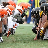Sunday, November 24: Renew the Rivalry at the Browns vs. Steelers Game The weather will be chilly, but a game against the Steelers is worth sitting through gale-force winds, torrential downpours or blizzard conditions, especially when Big Ben and the black-and-gold look so shitty. The Browns, on the backs of Jason Campbell, Josh Gordon, Jordon Cameron and electric defensive play, will continue to compete for the top spot in the AFC North. Haslam & Co. have recently announced that First Energy Stadium will upgrade the scoreboards and the escalators in 2015, but improving the fan experience is only the second part of Haslam's leadership plan. The first: winning a lot of games over a long period of time. It's refreshing — even if we're not necessarily going to the Super Bowl — to be playing meaningful games at the end of November. It's a 1 p.m kickoff, so feel free to start tailgating at the crack of dawn in the muni lots. Tickets start at $25 but scalpers might be your best bet. At press time, the game was nearly sold out. (Allard) Photo Courtesy of I-X Christmas Connection, Facebook