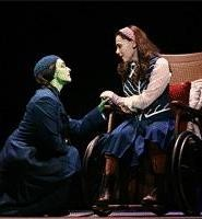 The Witch of the West (Julia Murney, left), nothing like you remember her.
