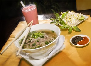 The yin and yang of Asian dining: Pho Saigon and Bubble Tea. - FRANK MILLER