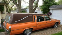 There's a Browns Hearse For Sale on Craigslist