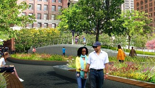 This is what Public Square will look like everyday in the future. - JAMES CORNER FIELD