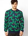 "This sweater from River Island says, ""I'm not overly cheery, but I am very holly-jolly!"""