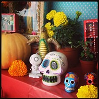 10 Things Going on in Cleveland this Weekend (November 1-3) Though it might not sound like it, the Detroit Shoreway's Dia de Los Muertos (Day of the Dead) celebration is a family-friendly affair. Kids love to join the Parade of Skeletons that features life-sized puppets and plenty of people in costume. Vendors will set up inside Cleveland Public Theatre's Parish Hall and Gordon Square Arts District bars and restaurants will have specials. Now in its ninth year, the event kicks off at 11 a.m., and the parade starts at 3:30 p.m. Admission is free. (Niesel) Photo via Instagram