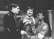 Three the Bard way: Gregory Willey, Dana Hart, and Kristi Little.