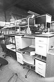 Three years of recession left Edward Gertsburg's - warehouse jam-packed. - WALTER  NOVAK