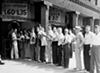 Ticket line, 1940.