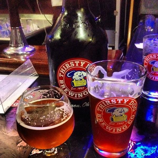Thirsty Dog Brewing Company- Pumpkin Ale