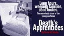 WALTER  NOVAK - Tom Mills showcases a model in the Dovin Funeral - Home casket room.