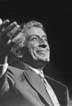 Tony Bennett soaks in the love at his December 8      Palace Theatre show.
