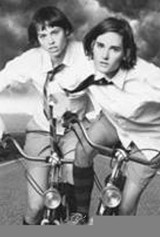 Touring by bike keeps the Ditty Bops sane.