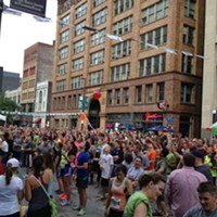 10 Things Going on in Cleveland this Weekend (July 25 - 27) Turns out Winking Lizard has more than just a world tour of beers. Tonight, they present their 11th Annual Shot in the Dark race (and party!) on Huron Avenue downtown. The flagship race is a four-miler -- running in the evening is way more tolerable than the morning or afternoon, this late in July -- but there's also a family walk/run, a team event and a 4 mile run. Stay afterwards for live music from Festivus, food and a rocking street party. Registration on the day of the race is $40, but if you register online now, you'll save $5. Plenty of time for beer after you cross the finish line. (Allard) hermescleveland.com. Photo via Flickr Creative Commons