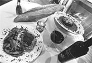 Two reasons to visit Vetturini's: Sausage-stuffed - mushrooms and Veal Saltimbocca. - WALTER  NOVAK