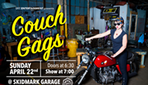 SX1 Entertainment Revs Up the Comedy Scene with 'Couch Gags' at Skidmark Garage