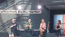 Inductees Steve Cropper and Dave Mason Make a Special Appearance at the Rock Hall