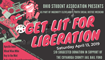 Get Lit for Liberation Fundraiser to Shed Light on Injustices at the Cuyahoga County Jail
