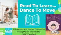 DANCECleveland To Hold a Free Facebook Live Event for Kids Tomorrow