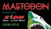 Hard Rock Act Mastodon to Perform at Agora in May