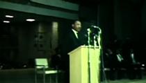 Listen to Martin Luther King Jr.'s 1967 Speech at Glenville High School