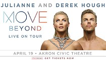 Derek and Julianne Hough Launch Their Latest Tour Tonight at the Akron Civic
