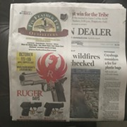 Gun Sale Touted in Prominent Plain Dealer Cover Ad