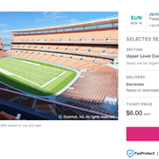 10 Things More Expensive Than a Ticket to the Browns vs. Jaguars on Sunday ($6)