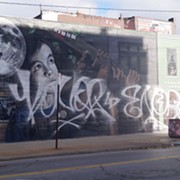 Mural on Clark and W. 25th Vandalized