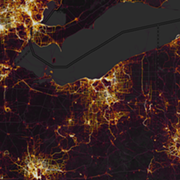 Exercise/Activity Heatmap Shows Just How Much Cleveland Uses the Metroparks