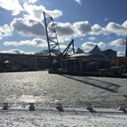 This is What the Cuyahoga River Looks Like Right Now