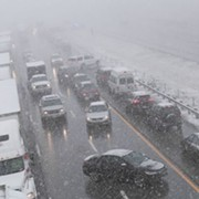 Video from Massive 50-Car Pile-up on I-71 Yesterday