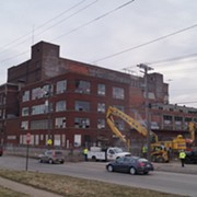 Photos: Demolition of Stockyards' Swift & Co. Meatpacking Building Begins