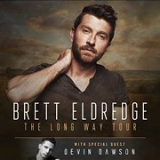 Country Singer Brett Eldredge to Perform at Jacobs Pavilion at Nautica in September