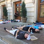 Nine Activists Arrested During Poor People's Campaign 'Die-In' at Ohio Statehouse