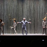 David Byrne Mixes Music and Performance Art at Jacobs Pavilion at Nautica
