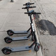 Bird Scooters Have Landed in Cleveland